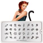 MoYou LONDON STAMPING PLATE - KITTY 03